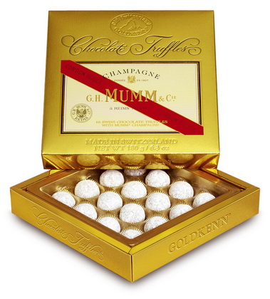 Truffle Collection Mumm, Grand Marnier, Remy Martin
